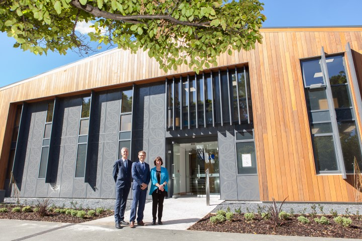 Dunedin Study new home officially opened